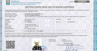 Cara Mudah Mendapatkan Sertifikat Badan Usaha (SBU)